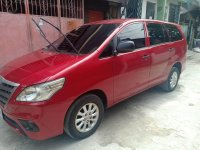 Red Toyota Innova for sale in Pasig