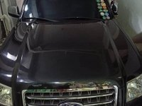 Black Ford Everest 2007 for sale in Quezon City