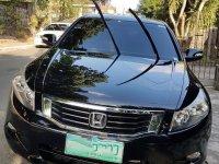 Black Honda Accord 2008 for sale in Quezon City
