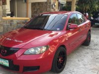 Red Mazda 3 for sale in Quezon City