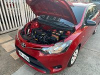 Red Toyota Vios for sale in Manual