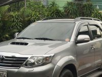 Sell Grey 2015 Toyota Fortuner in Quezon City