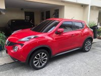 Red Nissan Juke 2017 for sale in Quezon City