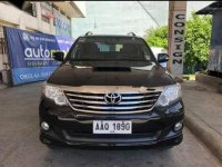 Black Toyota Fortuner for sale in Bacoor