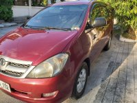 Red Toyota Innova 2007 for sale in Manila