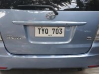 Sell Silver Toyota Innova in Imus