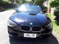 Black Bmw 116i for sale in Parañaque