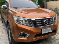 Orange Nissan Navara 2015 for sale in San Mateo