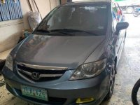 Selling Grey Honda City 2008 in Valenzuela