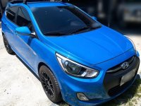 Blue Hyundai Veloster 2018 for sale in Muntinlupa