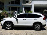 Selling White Honda Cr-V 2013 in Davao City