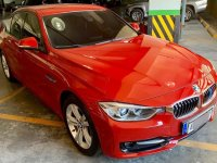 Red Bmw 320D 2014 for sale in Manila