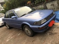 Blue Toyota Corolla 1992 for sale in Butuan