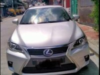 Silver Lexus Ct200h 2014 for sale in Quezon City