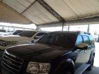 Black Ford Everest 2008 for sale in Davao City