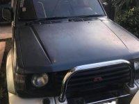 Black Mitsubishi Pajero 2003 for sale in Davao City
