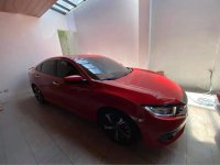 Red Honda Civic 2016 for sale in Mandaluyong City