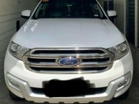 White Ford Everest 2018 for sale in Manila