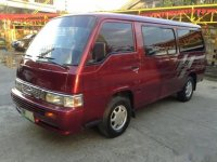 Sell Red 2010 Nissan Urvan Van in Mandaue