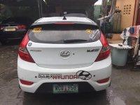White Hyundai Accent for sale in Manila