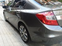 Grey Honda Civic 2012 for sale in Automatic