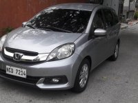 Selling Grey Honda Mobilio in Manila