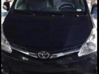 Selling Black Toyota Avanza 2015 in Manila
