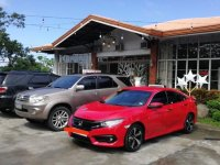 Red Honda Civic 2017 for sale in Makati