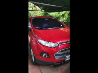 Selling Red Ford Ecosport 2017 in Las Piñas