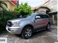 Silver Ford Everest 2016 for sale in Legazpi
