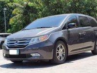 Grey Honda Odyssey 2012 for sale in Manila