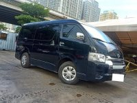 Selling Black Toyota Hiace in Makati