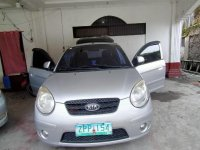 Silver Kia Picanto for sale in Manila