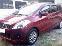 Red Suzuki Ertiga for sale in Parañaque City
