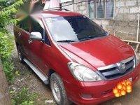 Selling Red Toyota Innova in Manila