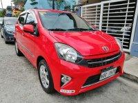 Red Toyota Wigo for sale in Manila