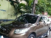 Brown 2010 Hyundai Santa Fe CRDi Premium for sale in Manila