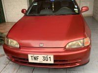 Red Honda Civic for sale in Quezon City