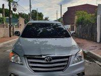 Silver Toyota Innova 2016 for sale in Manila