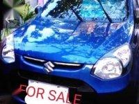 Blue Suzuki Alto 2017 for sale in Pasig City