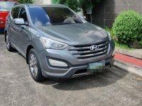 Sell Silver Hyundai Santa Fe in Mandaluyong