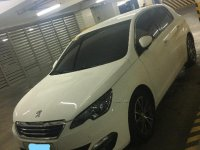 Selling White 2016 Peugeot 308 16E Auto in Manila