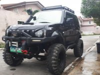 Selling Black Suzuki Jimny 2014 in Quezon City