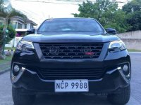 Black Toyota Fortuner 2019 for sale in Davao City