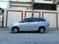 White Toyota Innova for sale in Quezon City