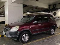 Red Honda CR-V 2WD LX Auto 2003 for sale in Makati City
