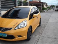 Yellow Honda Jazz 1.5 S i-VTEC (A) 2011 for sale in San Fernando