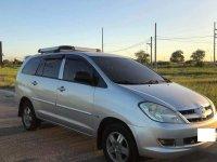 Silver Toyota Innova 2005 SUV at 100000 km for sale in Biñan