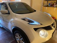Pearl White Nissan Juke 1.6 CVT Auto 2016 for sale in Makati City