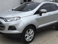 Silver Ford Ecosport 2017 for sale in Malabon City